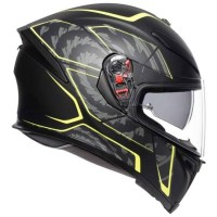 AGV K5-S Tornado Black Yellow