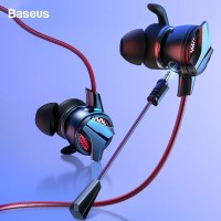 BASEUS Gamo H15 AUX 3.5mm Gaming Earphone Cable Handsfree Microphone