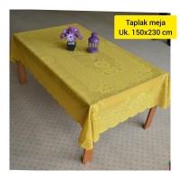 Taplak meja persegi panjang home living + oblong 150x230cm + 1175 bktk