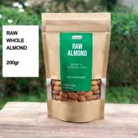 Kacang Almond Mentah / Almond Mentah/ Raw Almond