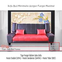 "Sofa Bed Medan Merk ""HALO SOFA"" Type VERONA - Sofa Minimalis TERLARIS"