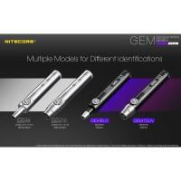 Nitecore GEM10UV Senter Indentifikasi Batu Mulia Gemstone Ultraviolet
