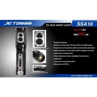 JETBeam SSA10 Senter LED CREE G2 200 Lumens