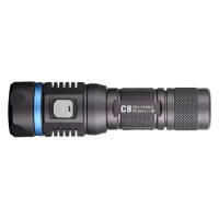 JETBeam C8 Pro Tactical Senter LED Cree SST-40 N4 BC 1200 Lumens