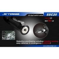 JETBeam SSC20 Senter LED CREE G2 580 Lumens