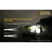 NITECORE EC30 Senter LED Cree XHP35 HD 1800 Lumens