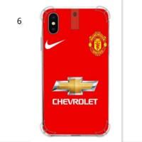 Softcase Anticrack Transparan Apple iPhone X Edisi Manchester United 2
