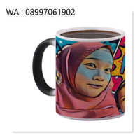 Magic Mug Bunglon Design Suka-Suka Kamu (Design By Request)