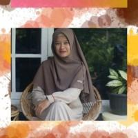 jilbab nadeera belah tengah/samping ukuran S