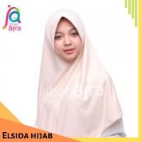 Jilbab AMIRA warna Krem Coklat size M L XL JUMBO Bergo Antem Jilbab Af