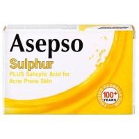 Sabun Asepso Sulphur (Kuning)