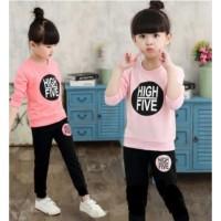 SETELAN SWEATER ANAK High Five 1 - 7 Thn MAXKENZO Baju Anak BerKu