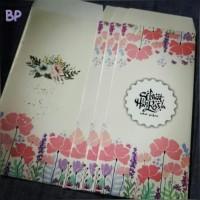 Amplop Lebaran Idul Fitri Besar - Bunga Pink
