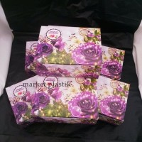 Box kue/kotak kue/dus snack/Box makanan/DUS LEG GS-BUNGA 12x16