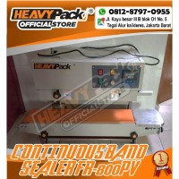 Mesin Segel Plastik Continuous Band Sealer HEAVYPACK FR-800PV (Paint)