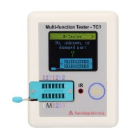 Multifunction Tester Transistor Capacitor Resistor Inductor MOSFET TC1