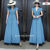 New 986 dress Blue