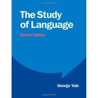 The Study of Language George Yule