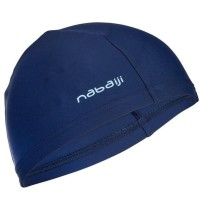 Nabaiji Topi Renang Mesh Merah Dan Navy Ori Decathlon
