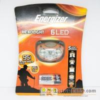 ENERGIZER HEADLIGHT 6 LED 95 LUMENS (SENTER KEPALA)