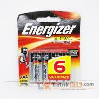 ENERGIZER MAX AAA (6 PACK) ALKALINE BATTERIES