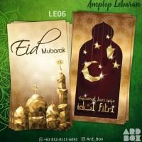 Amplop Lebaran Ramadan Angpao Idul Fitri Custom Eid Mubarak Murah LE06