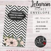 Amplop Uang untuk Lebaran / Angpao bisa custom nama - Black and White