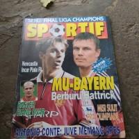 majalah sportif mei 98