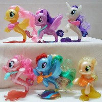 Figure My Little Pony Mermaid Pony Duyung Set isi 6