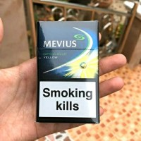 Rokok Mevius Option Blue Yellow