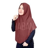 Jilbab Instan Simple Non Pad Diana Wolfis - Hijab Instan Khimar Instan