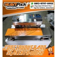 Continuous Band Sealer Mesin Segel Plastik FR-800SH (S/S) HEAVYPACK