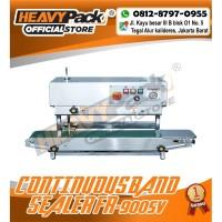 Mesin Segel Plastik Continuous Band Sealer HEAVYPACK FR-900SV (S/S)