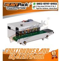 Mesin Segel Plastik Continuous Band Sealer HEAVYPACK FR-900L SPANDUK