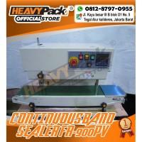 Mesin Segel Plastik Continuous Band Sealer HEAVYPACK FR-900PV (Paint)