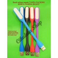 Lampu LED USB Flexible / Lampu Sikat USB