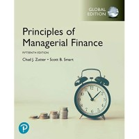 PRINCIPLES OF MANAGERIAL FINANCE 15TH FIFTEENTH EDITION CHAD J ZUTTER