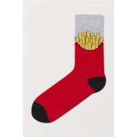 H&M FrenchFries Printed Socks