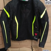 Dainese Air Crono 2 Tex Black Yellow Fluo Jacket