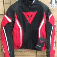 Dainese Air Crono 2 Tex Black Red Jacket
