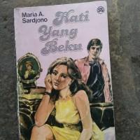 novel maria a Sardjono hati yang beku