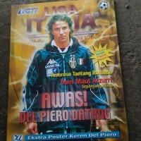 majalah liga Italia Agustus 199