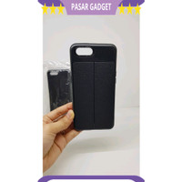 NEW ! Auto Focus Realme C1 6.2 inchi Leather Soft Case Realme RMX1811
