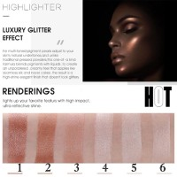 Long Lasting Waterproof Bronzers Shimmer Facial Glow Highlighter
