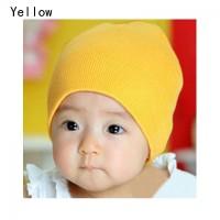 Topi Kupluk Rajut Hangat untuk Bayi Laki-laki/Perempuan, Musim Dingin