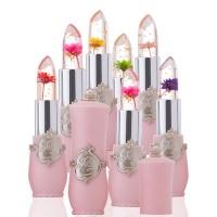 Lip Gloss Jelly Bunga Kristal Berubah Warna Sesuai Temperatur