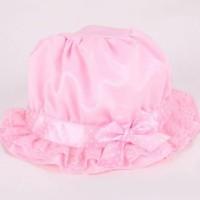 Fashion Bayi: Topi Hiasan Renda dan Pita Motif