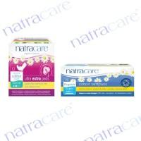 Natracare Ultra Extra Pads Normal + Aplikator Tampon Super