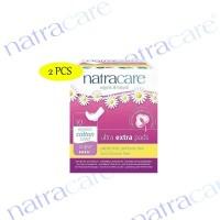 2 Pcs Natracare Ultra Extra Pads Super