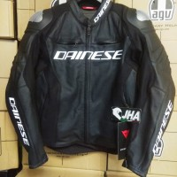 Dainese Racing 3 Leather Black Jacket
